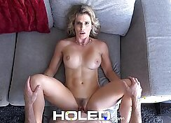 Busty stepmom Bianca virgin licked and banged