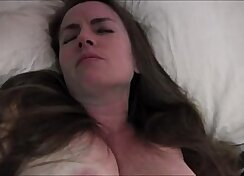 Creamy pregnant pussy and small nipples