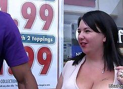 BBW ebony whore having casting