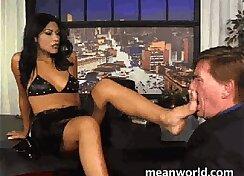 mistresses perfect deep pleasure with slave