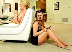 Angel Rayne and Lexi Belle star in fabulous lesbo xxx movie