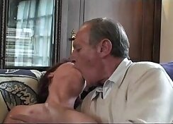 busty granny fucks like king with her foursome old