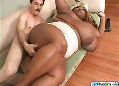 Black Teen Stills Her Fat Tits