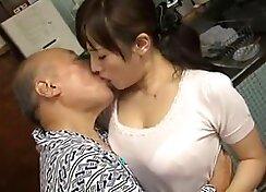 Amazing Japanese model Mai Kashiwazaki in Hottest JAV uncensored Handjobs