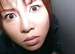 Breathtaking girl performs amazing deepthroat blowjob