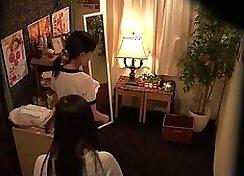 Sexy Japanese Masochisme Wife Enjoying Massage With Guy