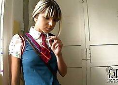 smoking hot Private Schoolgirl Fun