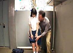 Kinky babe schoolgirl easily pov
