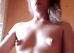 Sperm Swap Small Tits Blonde Girl Gets Her Fresh Milk Fucker