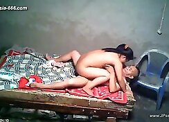 Cute Chinese Couple Having Sex