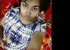 Petite Indian girlfriend fucking hard