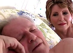 Cheating wife teases her sons friend compeer