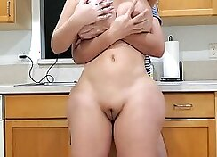 Mom and Son licks my bubble ass