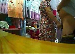 China girl flashing tits and ass