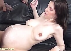 Alia Janine - Teen Pregnant With BBC