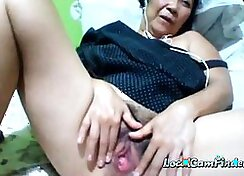 Asian Granny Exposed On Cam