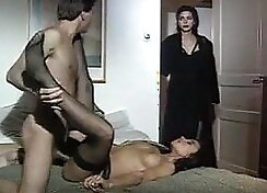 Big juggs vintage italian girl bondage blowjob
