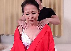 Japanese mojo orgasm for grandma best friends