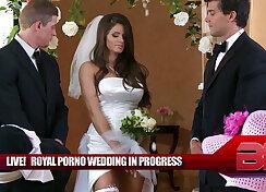 The royal hardcore wedding