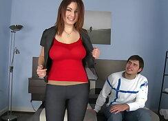 Nani and her boyfriend renting apartment