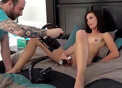 Stripper when getting first ass fucked
