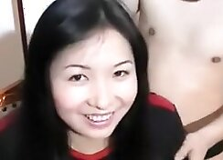blowjob before class with Chinese masseuse