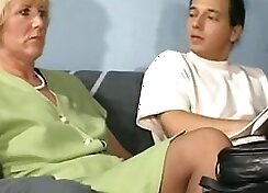 Blonde german granny Madison _ Hot Dipping