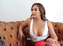 Brunette Anya Gilboa Double Attack