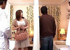 Japanese wife blows her guy
