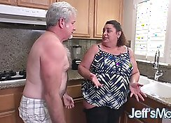 Chubby Mature Housewife with Sexy Big Ass
