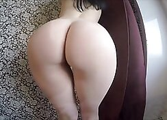 Cackling babes solo blowjob and ass fucks good